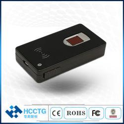 Mic портативный USB Wireless Bluetooth считыватель отпечатков пальцев документа считывающего устройства для смарт-карты (HBRT-1011)