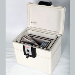 Home Security Fire Proof Chest Office HDD/Floppy Disk Storage Chest, UL-125 60 min. certificeren