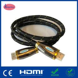 4K x 2K HDMI vers HDMI d'un mâle Un mâle, 1080P haute vitesse Câble HDMI plaqué nickel