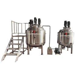 300L das camadas Duplo Shampoo camisa de aquecimento e refrigeração do depósito de mistura