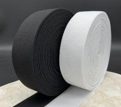 [هيغقوليتي] زاهية بيضاء مرنة حبل شريط شريط منسوج لأنّ مشد حزام سير صمّم علامة تجاريّة