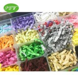 다양한 색상의 수포트 슈레드 종이 화장품 향수 음식에 대한 맞춤 패키지 디스플레이
