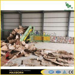 Китай высшего качества Auto реактивной тяги полностью Автоматическая горизонтальная бумажных отходов Kartar гидравлического пресса пресс-подборщика прессование нажмите машины с ременной передачей системы для продажи