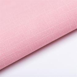 0.7mmの麻布の穀物のビスコース裏付け穏やかなPUの衣服の革