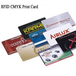 習慣PVC非標準カードの半端ものによって型抜きされるカード、3up PVCコンボVIP会員証