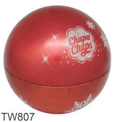 عيد ميلاد المسيح كرة قصدير يشكّل قصدير كرة صندوق