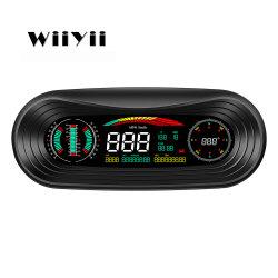 Diagnóstico automático P18 Carro Head Up Display Hud Medidor inteligente GPS Car Medidor digital inteligente