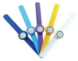 シリコーンの非難バンドはデジタルゴム製子供の腕時計を見る