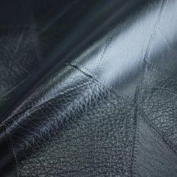 Hochwertige umweltfreundliche Leder De 90 Serie PVC Faux Leder Fabrik Versorgung Schwarzes Leder