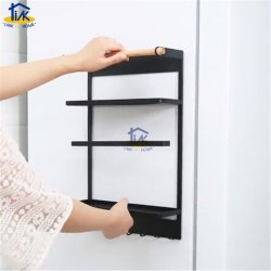 Brk0005bk холодильник магнитный держатель бумаги для установки в стойку Spice универсальной полимочевинной консистентной смазкой полка для хранения