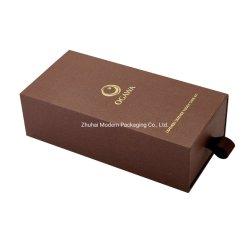 ワインのギフト用の箱1のびんのワインボックスタイの収納箱の腕時計の収納箱のワインのペーパー包装