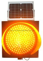 Gele 200 mm-signalen van het zonnelampje / alarmsignalen voor de verkeersveiligheid