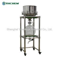 Alta apparecchiatura solvibile efficiente di filtrazione 10L del filtro a depressione dell'acciaio inossidabile