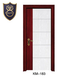 Румыния типа дерева MDF внутренней рамки двери с помощью двух цветов