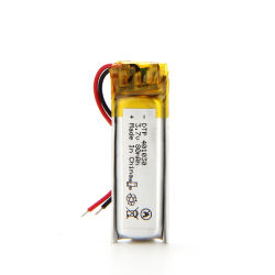 Batterie für intelligente Uhr Dtp 401030 3.7V 80mAh nehmen Größen-intelligente Uhr-Batterie ab