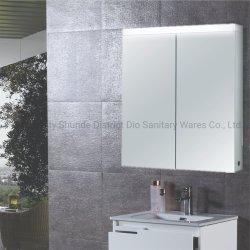 Estilo moderno de iluminação LED de banho de alumínio armário do Espelho