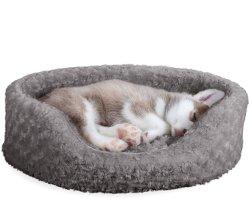 Cuscino per cani morbido, ovale, resistente all'usura