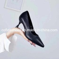 Nuova scarpa da donna in pelle sexy con tacco alto