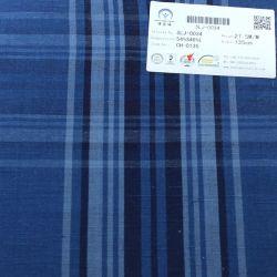 Cotone di tela di seta del plaid tinto filato