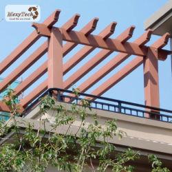 カスタマイズされたサイズのCarportは庭のPergola木WPCを設計する