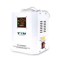 최고 가격 500 와트 가스 보일러를 위한 실제적인 V 가드 간선 AC 전압 안정제 AC 규칙 홈