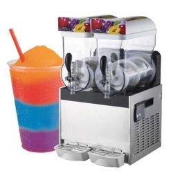 15LX2 Tigelas dispensador de bebidas cocktail congelado Gelo Granita viscosa Slurpee Slush Margarita Machine