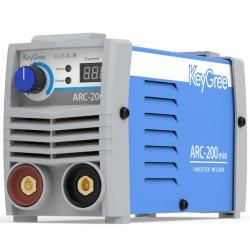 L'OEM di CC di Caldo-Vendita MMA IGBT di Keygree accetta 1pH 220V DIY, saldatore portatile dell'invertitore dell'elevatore TIG di uso della casa il piccolo (mini Arc-200)