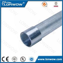 Tube électrique galvanisé en métal des prix de conduit de la pipe IMC d'acier du carbone