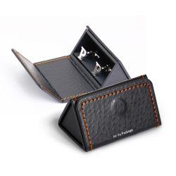 Papier carton cadeau délicat bijoux magnétiques Cufflink Emballage cas