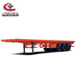 Китай Manufacterur более высокого качества Jinda 12 3 колес моста 40-фт планшет Полуприцепе// прицепа планшета груза Полуприцепе для продажи