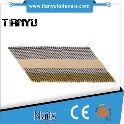 Розничная упаковка фокусировочные рамки гвозди для беспроводного и пневматического обрезаются головки блока цилиндров первой фиксации Nailers.