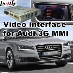 واجهة فيديو السيارة لـ Audi 3G MMI 2010-2016 A4 A5 A6 A7 Q3 Q5 Q7 وAndroid Navigation الخلفية و360 Panorama اختيارية