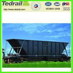 Бункер Tedrail вагон для перевозки угля с МСЖД сертификации, поезд прицепа