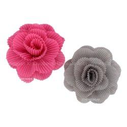 Deux façons de tissu Wearin Flower Hair Clip Brooch de mode d'accessoires