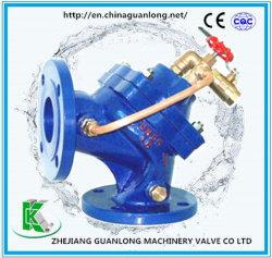 Valvola di regolazione idraulica attuata diaframma del livello d'acqua di angolo (100A)