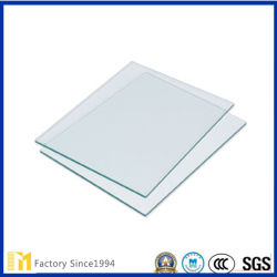 2mm12mm ontruimen het Decoratieve Glas van de Vlotter voor Omlijsting of Meubilair