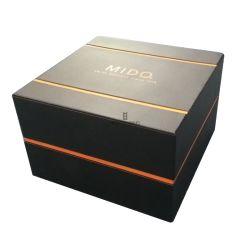 Praça personalizado Blendent Cor Duplo Single Assista a caixa de embalagem de Exibição de armazenamento Dom