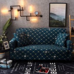 Canapé-élastique couvrir entièrement couverts serviette Anti-Skid canapé entièrement couverts Cloth-Wrapped couvercle de la table à coussin d'art