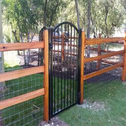 Commerce de gros Customizatiom une barrière métallique avec un côté ouvert