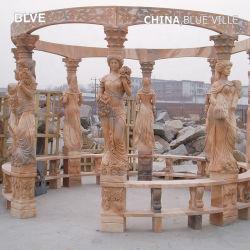 贅沢で大きい石造りの望楼公園の装飾の大理石のパビリオンの販売Mgg-17