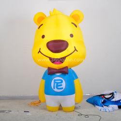 カスタマイズされた Make Walking Bear Costume Inflatable Puppet Inflatable Costume for Adult