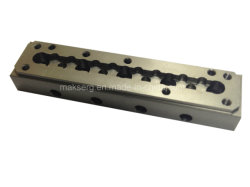 CNC 알루미늄 합금 양극 처리된 기계설비 OEM ODM를 기계로 가공하는 정밀도