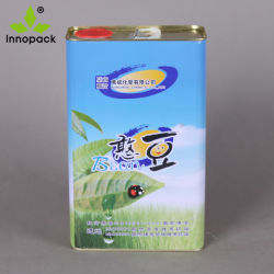 Food Grade Тин емкости контейнер емкостью 1 литр растительного масла металла может