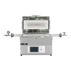 Horizontal único laboratorio Horno de tubo de zona de calefacción con control de temperatura