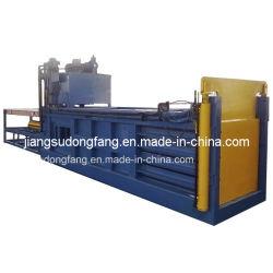 Carton horizontale ramasseuse-presse avec la norme ISO9001 : 2008