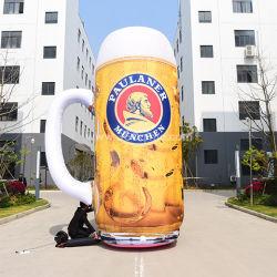カスタム・デザイン製品膨張可能ビールボトルの巨大膨張可能ガラス ビールのための昇進の inflatables モデルを広告している