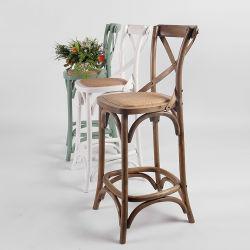 Sgabello di barra di legno di Crossback dello schienale della mobilia della quercia Rch-4003