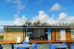 منزل أوروبي قياسي ومسبق التجهيز مع الطاقة الشمسية والذكي بيت الحاويات
