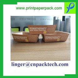 Conteneur alimentaire Folable jetables sur mesure de Sandwich Poulet frit & Hamburger boîte cadeau