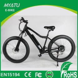 ブレーキライトが付いているダイヤモンドバックスによって隠される電池の電気脂肪質のタイヤの自転車
